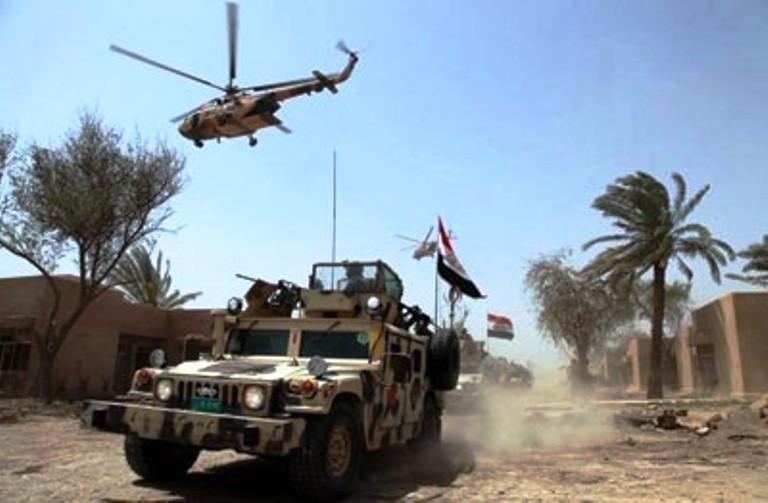 قوات عراقية مدعومة بالطائرات في الأنبار