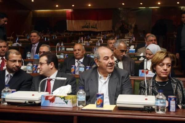 علاوي مترئسا اجتماعًا لقادة الكتلة العراقية