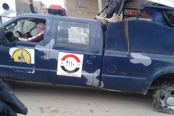 مسلحو الفلوجة يستولون على سيارة للقوات الأمنية