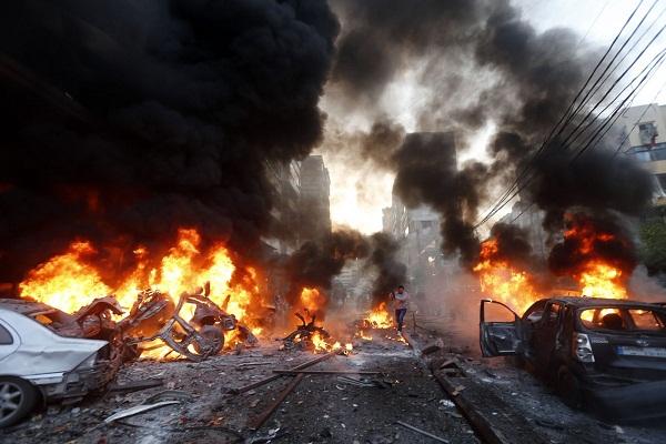 التفجير الأخير في حارة حريك في الضاحية الجنوبية