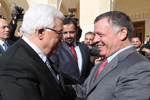 عبدالله الثاني ممستقبلا عباس الأربعاء