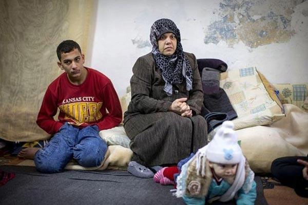 سوزان وعائلتها في مخيمات اللجوء في الأردن