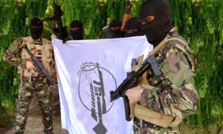 عناصر من قوات باقر الصدر في ريف دمشق