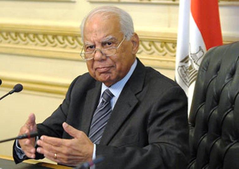 رئيس الوزراء المصري حازم الببلاوى