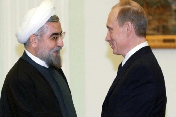 لقاء سابق يجمع بوتين وروحاني في طهران