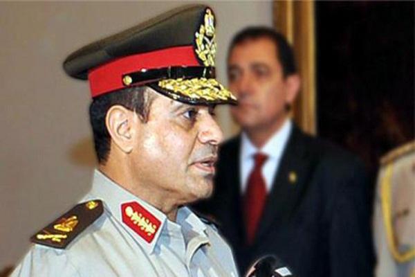 وزير الدفاع المصري عبد الفتاح السيسي