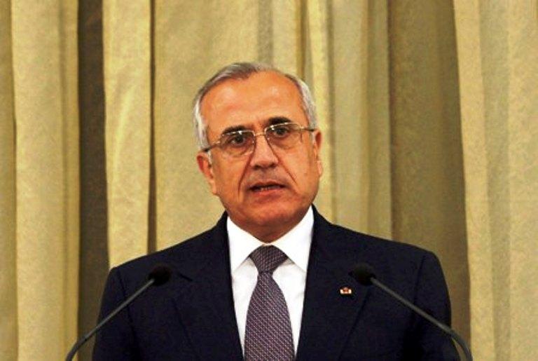 الرئيس اللبناني ميشال سليمان