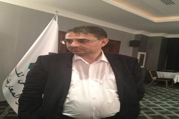 الامين العام للائتلاف الوطني بدر جاموس