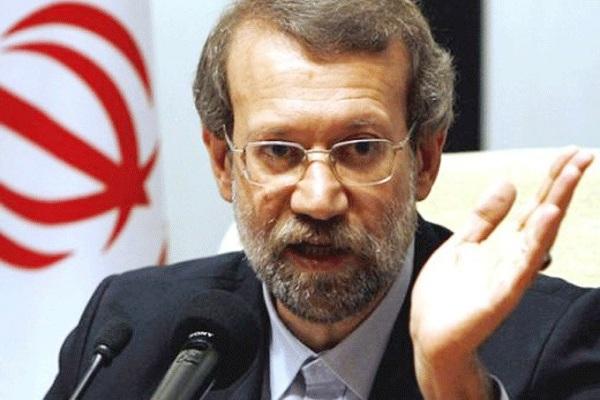 رئيس الشورى الايراني علي لاريجاني