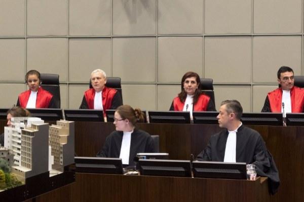 إحدى جلسات المحكمة الدولية الخاصة بلبنان