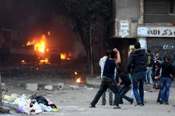 مواجهات بين أنصار مرسي وقوات الامن المصرية