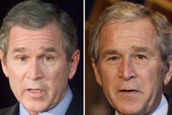 الرئيس الأميركي السابق جورج بوش
