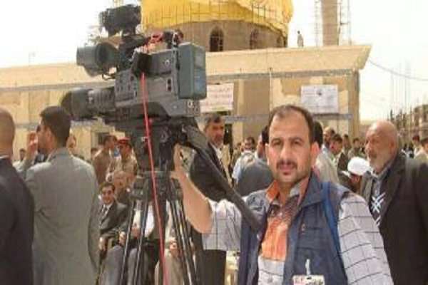 الصحافي العراقي رعد العزاوي