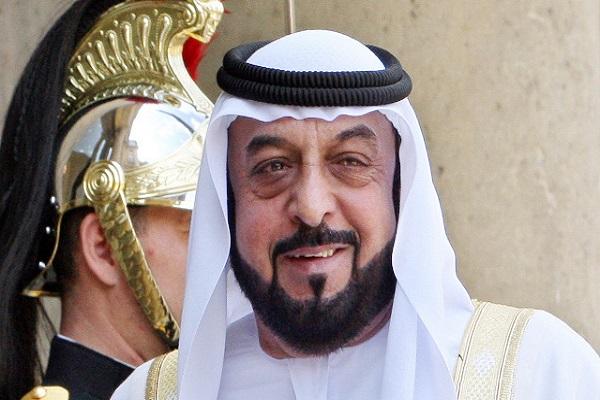 الرئيس الإماراتي الشيخ خليفة بن زايد