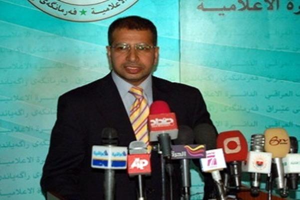 سليم الجبوري خلال مؤتمره الصحافي