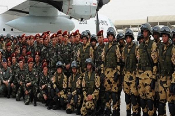 وصول قوات مصرية الى الامارات