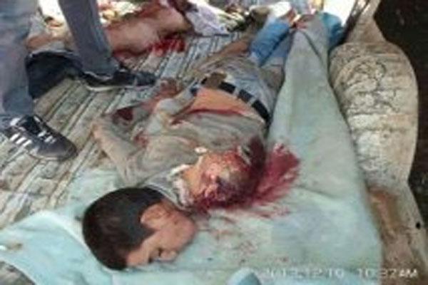 قتلى قصف الجيش العراقي للفلوجة