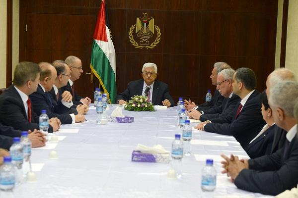 اول اجتماع للحكومة برئاسة عباس- نقلا عن وفا
