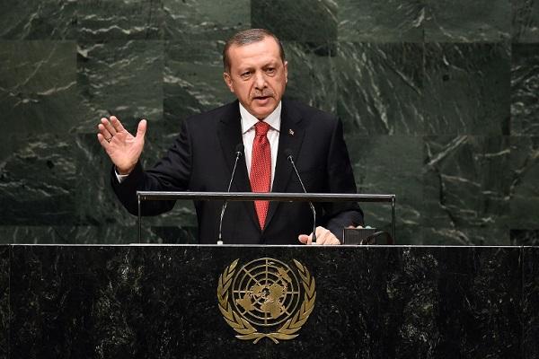 اردوغان أمام الجمعية العامة للأمم المتحدة