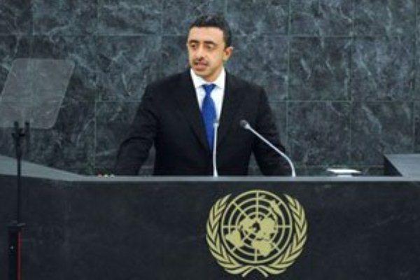 وزير الخارجية الإماراتي عبدالله بن زايد