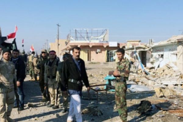 تدمير منازل في مناطق محررة من داعش