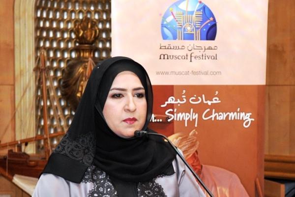 ندى بنت عبدالرحيم الزدجالية القائمة بأعمال مدير إدارة المهرجان