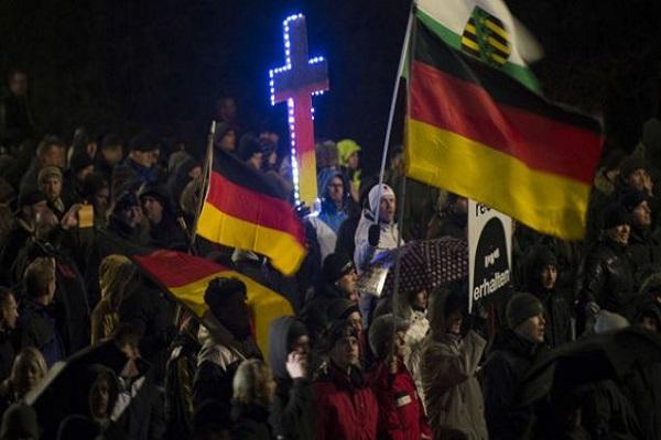 تظاهرة في المانيا