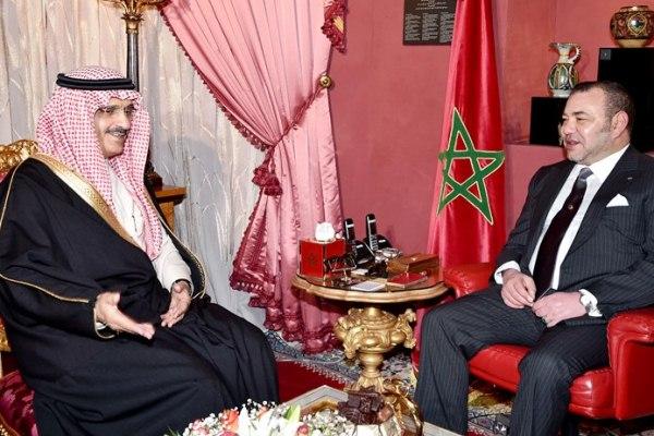 الأمير خالد بن بندر ينقل رسالة من الملك السعودي إلى ملك المغرب