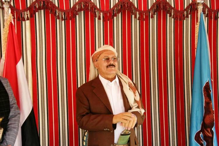 علي عبدالله صالح حافظ على نفوذ واسع بعد رحيله عن رئاسة اليمن