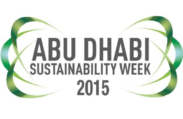 شعار أسبوع أبوظبي للاستدامة