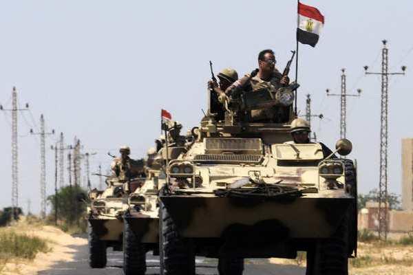 مجموعة من الجيش المصري في سيناء