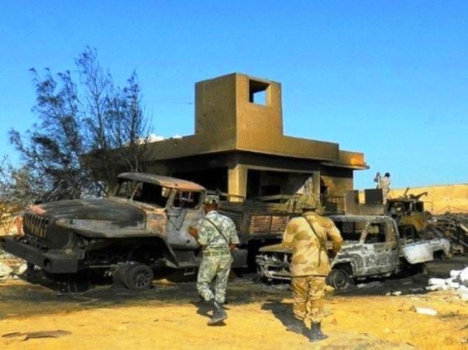 هجمات سابقة في سيناء المصرية