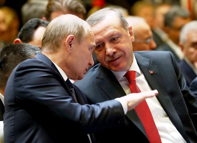 اردوغان وعد بسياسة (صفر مشاكل) فوجد نفسه في مواجهة الدب الروسي