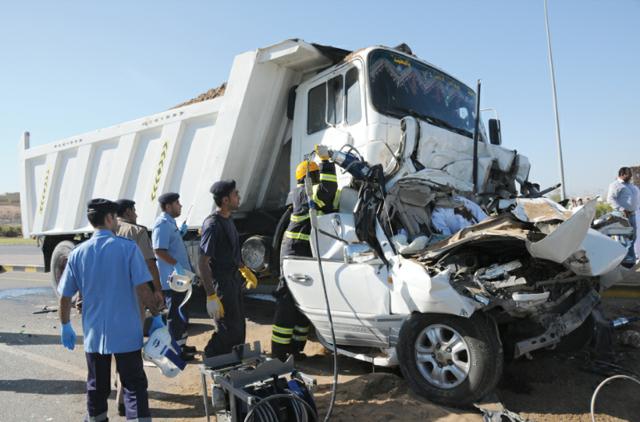 خمسة آلاف حادث مروري في سلطنة عُمان في 11 شهراً