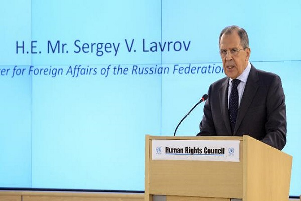 لافروف يؤكد دور موسكو في حماية الأقليات في المشرق