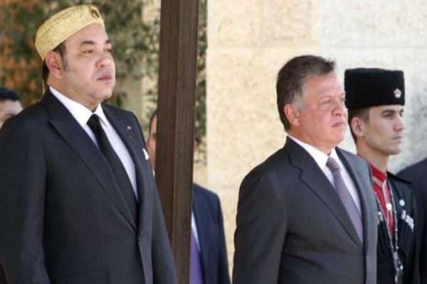 القدس ومحاربة التطرف امام عاهلي المغرب والأردن