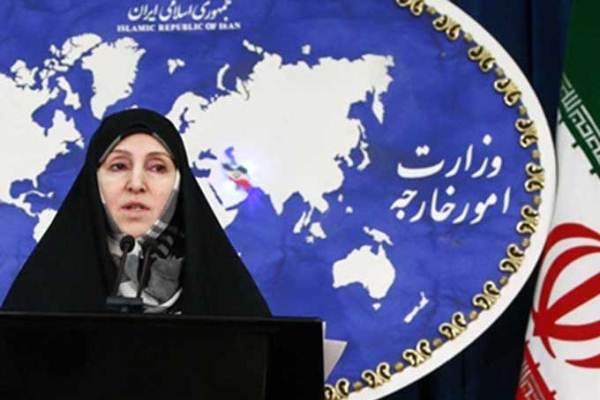 مرضية افخم المتحدثة باسم الخارجية الإيرانية