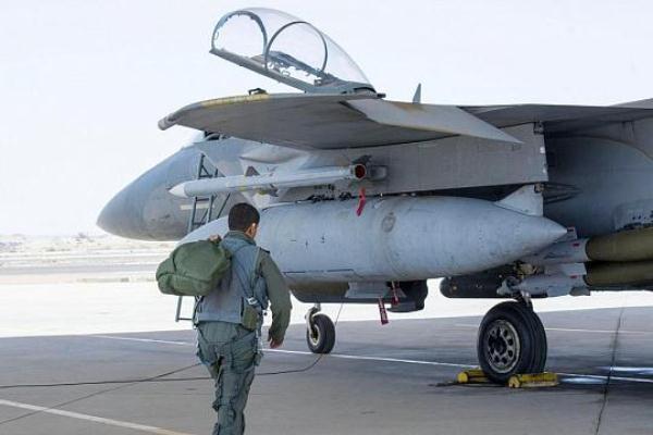 مقاتلة سعودية مشاركة في عمليات عاصفة الحزم