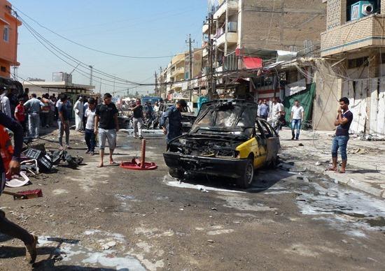 العثور على جثث ثمانية رجال بعد خطفهم في بغداد