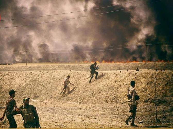 القوات العراقية على مشارف الرمادي