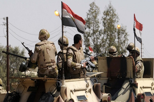 عناصر من الجيش المصري في سيناء