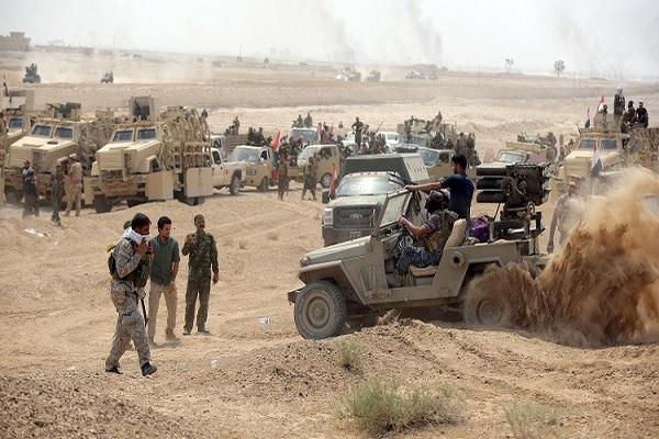 قوات عراقية حول الرمادي