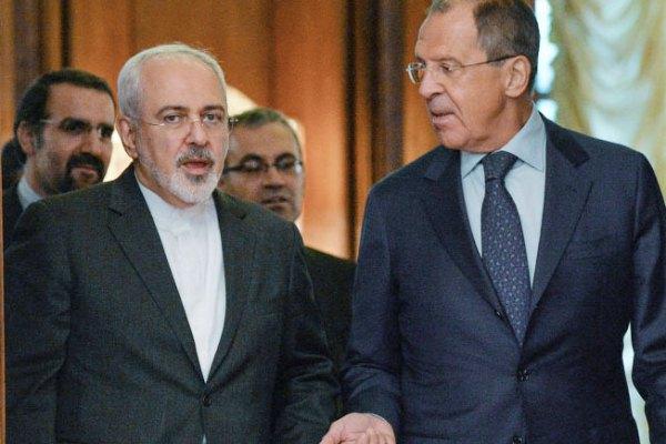 لافروف وظريف بعد محادثات الاثنين في موسكو
