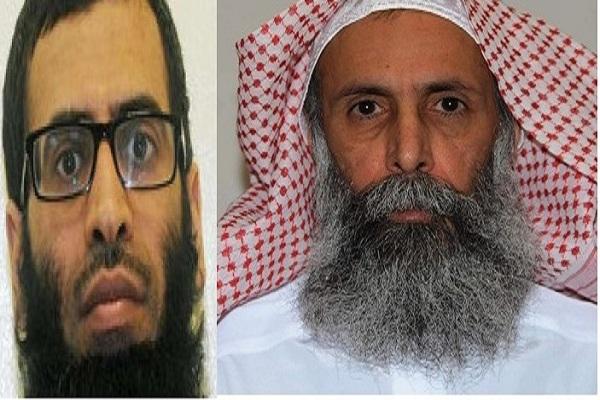 الزهراني المنظر الشرعي في تنظيم القاعدة داخل السعودية. ونمر النمر رجل الدين الذي هدد