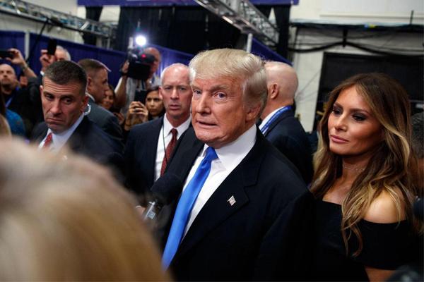 دونالد ترامب يظهر بدور ثانوي في فيلم إباحي
