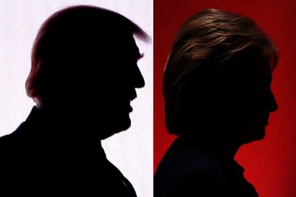 كلينتون وترامب في المناظرة الأخيرة