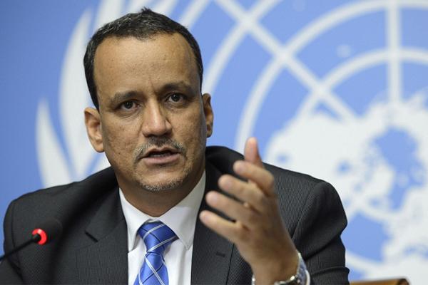 المبعوث الاممي إلى العاصمة اليمنية اسماعيل ولد الشيخ