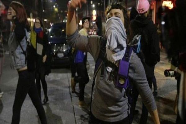 تظاهرات في عدة ولايات أميركية احتجاجا على ترامب