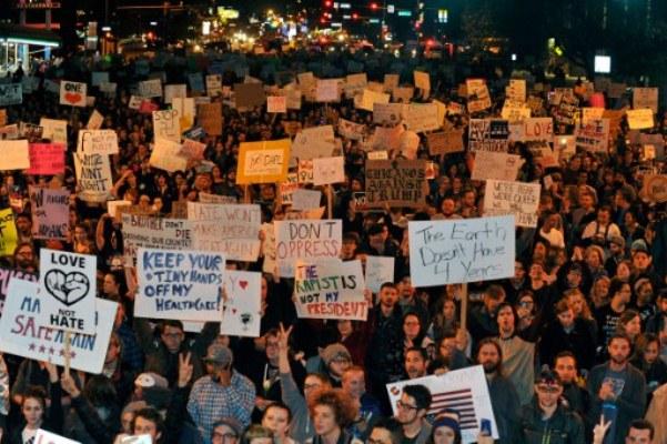 تظاهرات ضد ترامب في كولورادو
