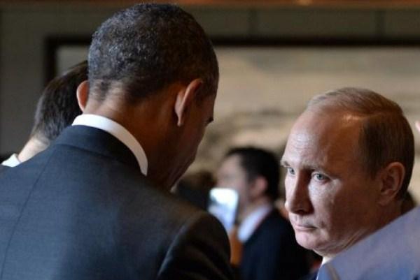 بوتين خلال لقاء سابق مع أوباما